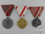 Three Austrian Medals & Awards