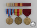 Three Second War Period American Medals