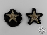 Two Imperial German Navy (Kaiserliche Marine) Officer's Line Insignias