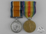 A First War Pair to Sergeant G. Northcote; Army Service Corps