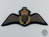 An Early QE II Royal Air Force (RAF) Bullion Pilot Wings