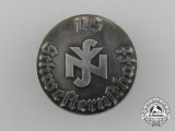A Silver National Socialist People's Welfare Nurse's Association Membership Badge