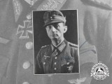 A War Time Signed Photo of Oak Leaves & Swords Recipient Colonel General Eduard Dietl
