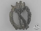 A Silver Grade Infantry Assault Badge by Fritz Zimmermann & Söhne of Lüdenscheid