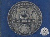 An Association of Yugoslav Fighters in the International Brigades in Spain Medal