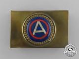 An American First War Third Army Matchbox Cover