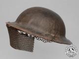 A First War Mark II Tanker's Helmet