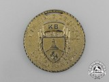 """A 1939 American Kyhffhäuser League """"Day of German Soldiers"""" Commemorative Medal"""