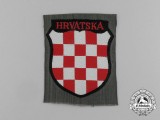 A Croatian Volunteers Arm Shield