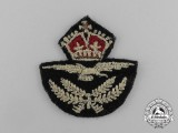 A Second War Royal Canadian Air Force (RCAF) Officer's Sleeve Insignia