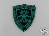 "A Spanish Civil War Flechas Verdes ""Green Arrows"" Division Sleeve Patch"