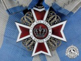 An Order of the Crown of Romania; 1st Class Grand Cross