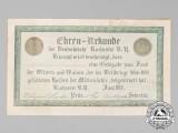 An American 1916 Bond to the Widows & Orphans of the Fallen Germans