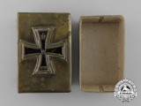 A First War German Iron Cross Matchbox Cover