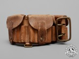 A Boer War Produced Cartridge Belt Issued for the Governor General's Body Guard