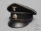 An RZM 1936 Allgemeine SS NCO's Visor Cap