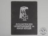 A 1st SS Panzer Division Leibstandarte SS A.H. Soldier's Service Photo Album