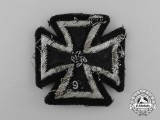 An Iron Cross 1939 First Class; Cloth Version
