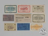A Collection of Second War Allied POW Camp Currency