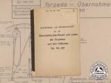 A Manual for Handling of Torpedo of Experimental Submarines U-792 and U-793