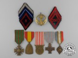 A Lot of French & Belgian Medals and Insignia