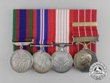 A Second War Canadian Group to Flight Sergeant Leonard Percival Fry