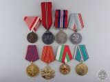 Eight European Medals & Awards