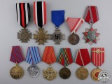 Eleven European Awards & Medals