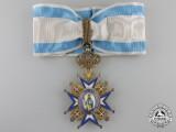 A Serbian Order of St. Sava; 3rd Class Commander