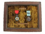 Crimean War Medal Pair - Capitaine Marty
