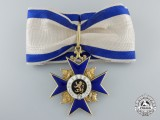A Bavarian Order of Military Merit Second Class (1905-1918) in Gold