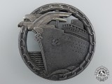 A Kriegsmarine Blockade Runner Badge by Schwerin, Berlin