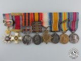 A Fine India, South Africa, and First War Miniature Group of Awards