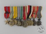 An American Miniature Group of Ten Awards