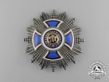 A Russian Made Order of Danilo; 1st Class Breast Star by P. Fokin