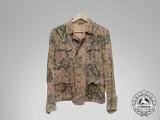 "A Waffen-SS M44 ""Erbsenmuster"" Pea-Pattern All-Season Tunic"