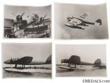 Four Heinkel He 115 Torpedo Bomber Photographs