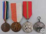 Four Italian Regimental Medals