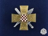 A Herceg-Bosna (Former Croat territory of Bosnia-Herzegovina) War Memorial Cross 1992-1995