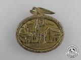A 1937 Braunschweig-City District Council Day Badge