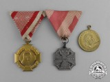 Three Austrian Medals and Awards