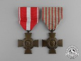 Two French Medals and Awards