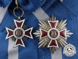 An Order of the Crown of Romania; Grand Cross Set, Type II (1932-1947)