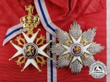 An Norwegian Order of St. Olaf; Grand Cross Set in Gold (1905-1937)