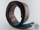 An Early Luftwaffe Officer's Belt by Ekso