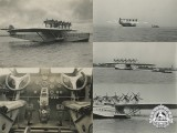 Five Original Photographs of Rare German Plane Dornier Do X