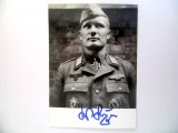 KNIGHTS' CROSS WINNER-POST WAR SIGNATURE / PHOTO