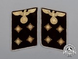 A Matching Set of Unissued NSDAP Kreisleiter/District Leader Collar Tabs; RZM Labelled
