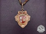 A Fine Spanish Province of Burgos Merit Prize 1964 in Gold