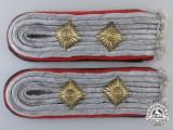 A Set of  Luftwaffe Beamte (Luftwaffe Official's) Shoulder Boards